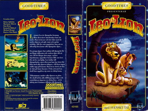 GOODTIMES - LEO THE LION (VHS)