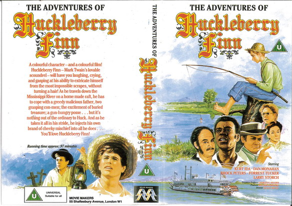 HUCKLEBERRY FINN (VHS) UK