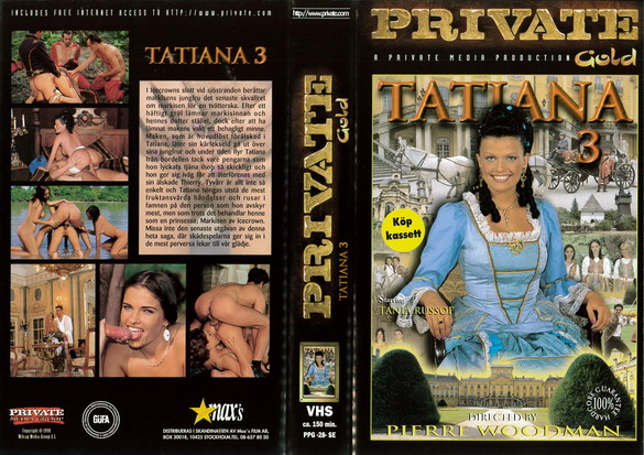 PRIVATE PICTURE GOLD 28 TATIANA 3 (VHS)