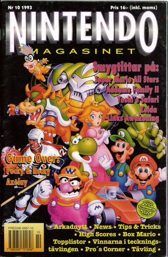 NINTENDO MAGASINET 1993:10