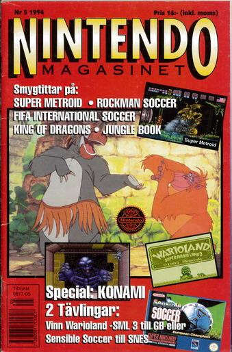 NINTENDO MAGASINET 1994:5