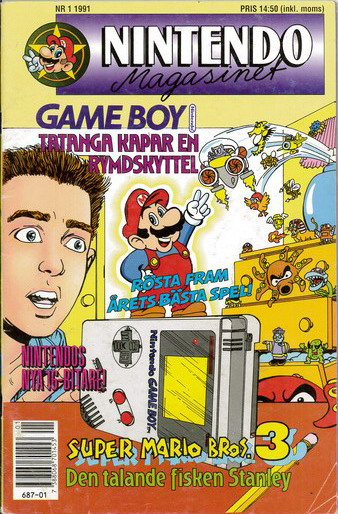 NINTENDO MAGASINET 1991:1