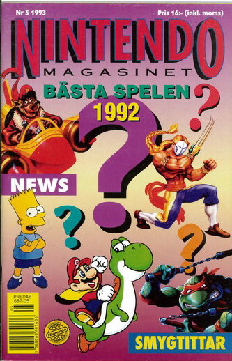NINTENDO MAGASINET 1993:5