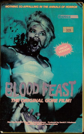 BLOOD FEAST  (VHS) (USA-IMPORT)