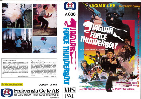 A836 Jaguar Force Thunderbolt (VHS)