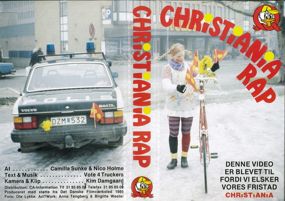 CHRISTIANIA RAP (VHS) NORGE