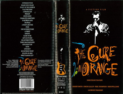 CURE IN ORANGE (VHS)
