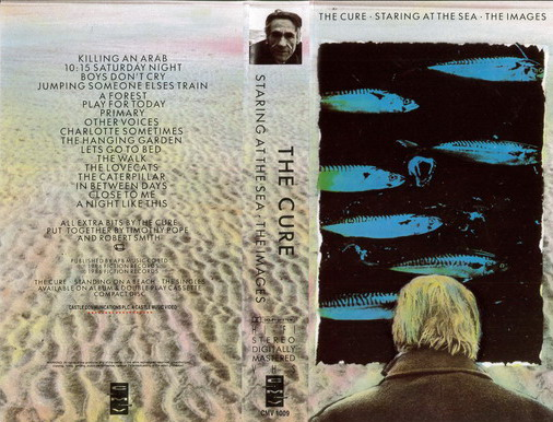 CURE - STARING AT THE SEA (VHS)