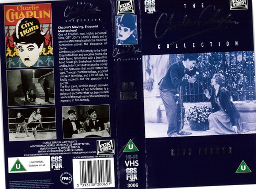 CITY LIGHTS (VHS) UK