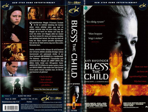 BLESS THE CHILD (VHS)