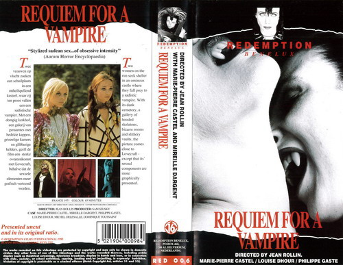 RED 006 REQUIEM FOR A VAMPIRE (VHS) HOL