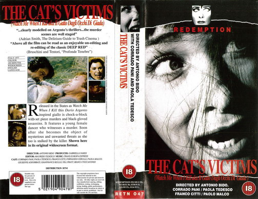 RETN 047 CATS VICTIM (VHS) UK