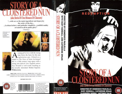 RETN 046 STORY OF A CLOISTERED NUN (VHS) UK (COPY ?)