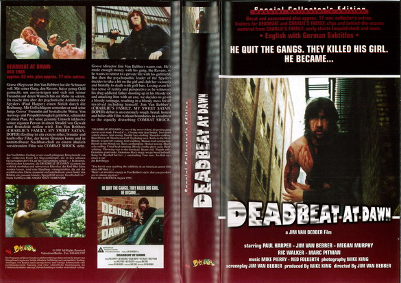 DEADBEAT AT DAWN (VHS) TYSK