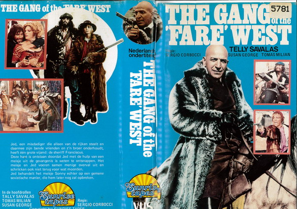 GANG OF THE FERE WEST (VHS) HOL