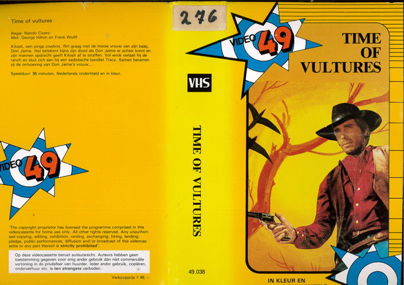 TIME OF VULTURES (VHS) HOL