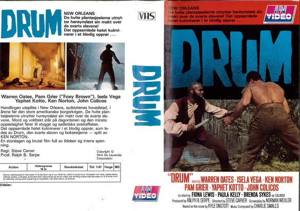 DRUM (VHS) NORGE