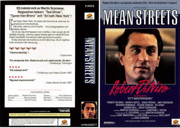 7310 MEAN STREETS (VHS)