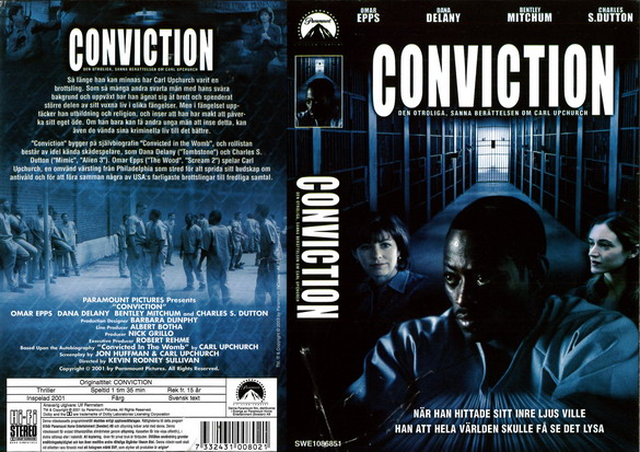 CONVICTION (vhs)