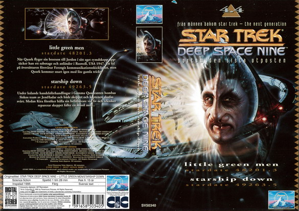 STAR TREK DEEP SPACE NINE 4.4 (VHS)