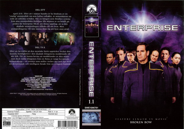 STAR TREK ENTERPRISE 1.1