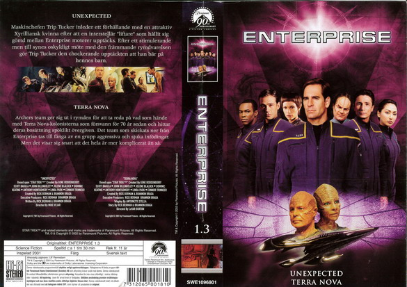 STAR TREK ENTERPRISE 1.3