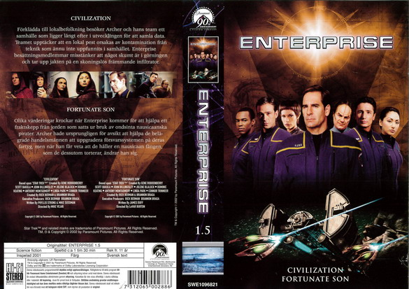 STAR TREK ENTERPRISE 1.5