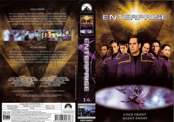 STAR TREK ENTERPRISE 1.6
