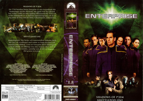 STAR TREK ENTERPRISE 1.8