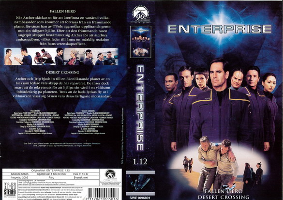 STAR TREK ENTERPRISE 1.12