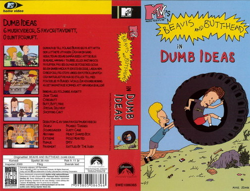 BEAVIS AND BUTTHEAD - DUMB IDEA