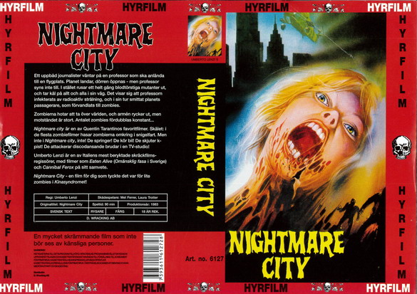 6125 NIGHTMARE CITY (vhs)