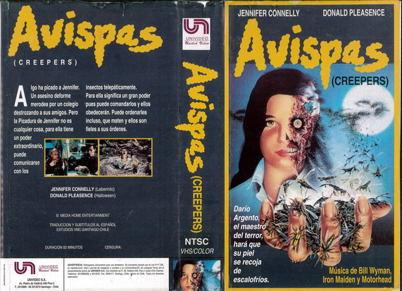 CREEPERS (VHS) CHILE