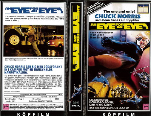 AN EYE FOR AN EYE (VHS)