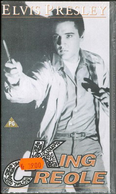 KING CREOLE (VHS) UK