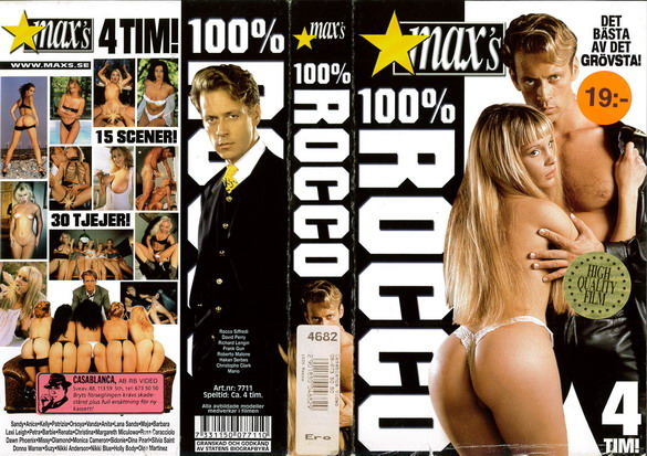 4682 100% ROCCO (VHS)