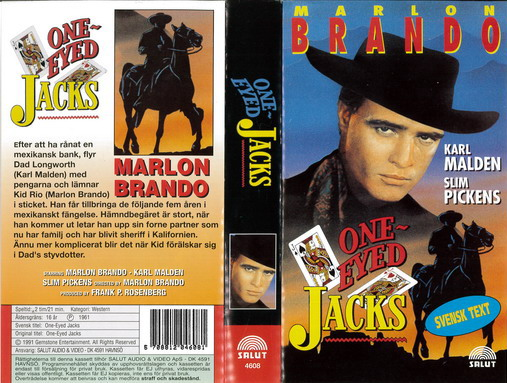 ONE-EYED JACKS (VHS)