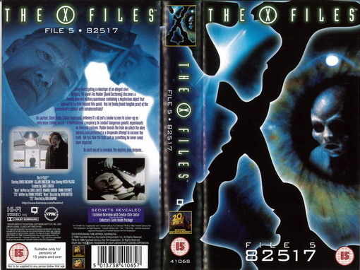 X-FILES: FILE 5 82517 (VHS) UK