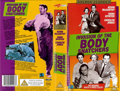 INVASION OF THE BODY SNATCHERS - 1955 (VHS) UK