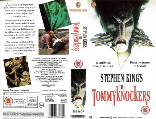 TOMMYKNOCKERS (VHS) UK