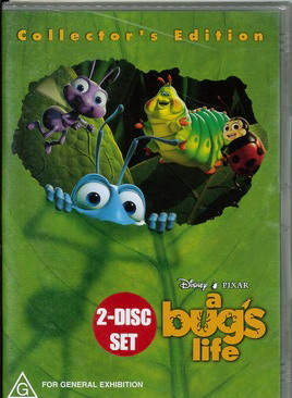A BUGS LIFE (DVD) AUS IMPORT