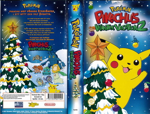 PIKACHUS WINTER VACATION 2 (VHS)