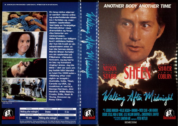 WALKING AFTER MIGNIGHT  (VHS)  NORGE
