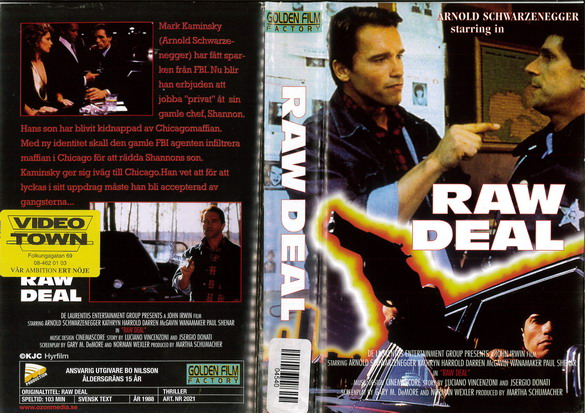 RAW DEAL (VHS)