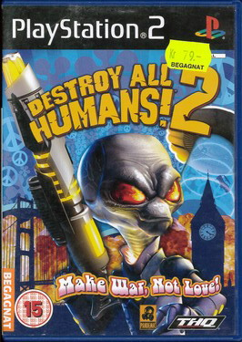 DESTROY ALL HUMANS 2 (BEG PS 2)