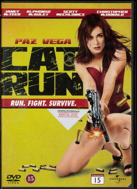 CAT RUN (BEG DVD)