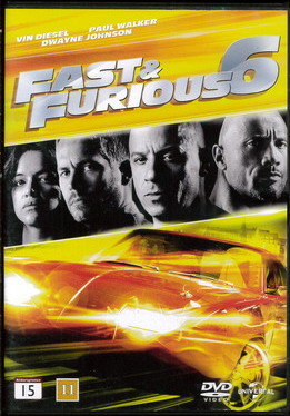 Fast & Furious 6 (Second-Hand DVD)
