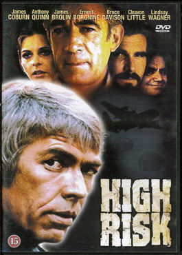 HIGH RISK (beg dvd)