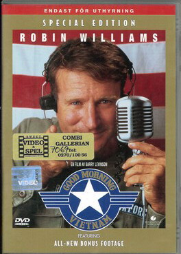 GOOD MORNING, VIETNAM (BEG HYR DVD)