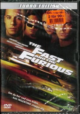 Fast & furious 1 Turbo edition (dvd)